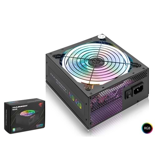 HADRON HD420 POWER SUPPLY 650W 80 PLUS STANDART