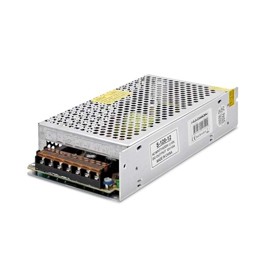 HADRON HD8203 ADAPTÖR METAL 12V 10A 20*10*4CM