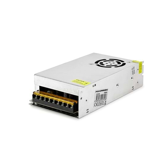 HADRON HD8205 ADAPTÖR METAL 12V 20A 20*11*5CM