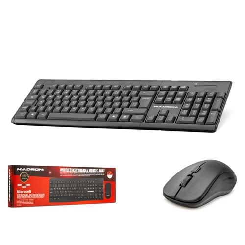 HADRON HD840 KLAVYE & MOUSE SET WIRELESS Q